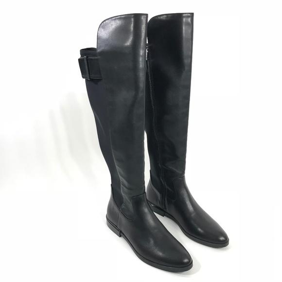 771830efaf62 Calvin Klein Shoes | Womens Priya Boot Black 75 A0118 | Poshmark
